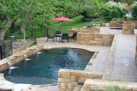 Ensure areas bordering onto water, like pool decks and patios, are mould free.